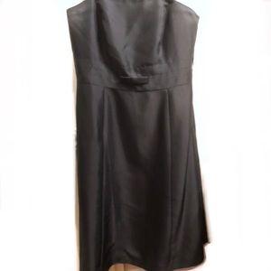 Ann Taylor silk black dress 6p
